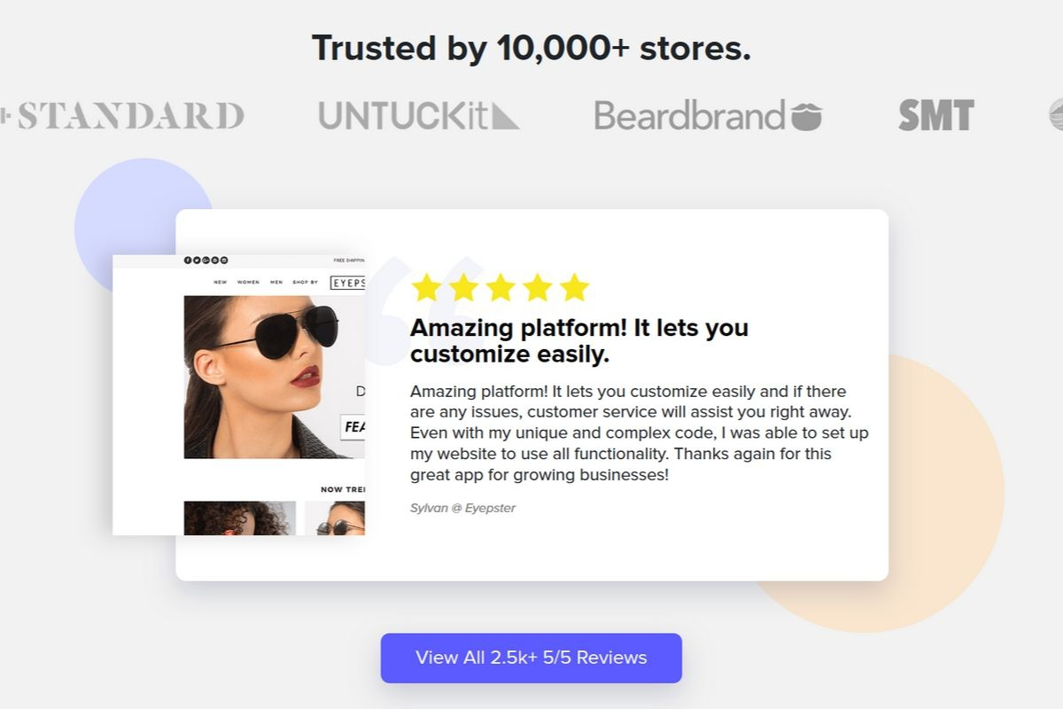 Social Proof Examples Ecommerce Store Reviews Trust